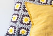 Crochet - Home and Kitchen / Free patterns, inspiration, and ideas for crochet for the home and kitchen -- blankets, dish cloths, potholders, decor, etc.