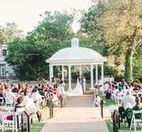 Outside wedding ceremonies / Gorgeous southern outside wedding ceremony locations