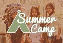 Summer Camp / ¡Llega la temporada de los campamentos! Encuéntralo todo para que los peques los disfruten al máximo. http://bit.ly/1XcfeRH