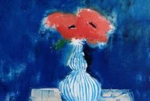 Art - My Paintings / Flowers, table tops, still life, floral, paintings