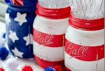 Fourth of July / DIY, crafts, recipes, entertaining and decorating for 4th of July.