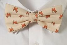The Fox / Our red-tailed mascot, we love him for his wit and style.