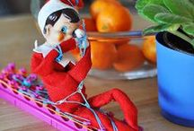The Elf / Our Elf on the Shelf is named Cherry.  These are other Elves and maybe one or a few of Cherry as we load them, we will name her in them.