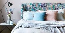 Bedroom ideas / Style inspiration, colour schemes and decorating ideas to help you create your dream sanctuary whether large or small.