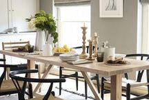 Dining room ideas / We take a look at some of the best dining room designs and accessories.