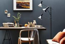 Home office ideas / Create an efficient and organised home office with these stylish ideas.