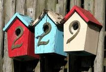 DIY for the Birds / DIY and Inspirations for bird houses, birdbath and bird food