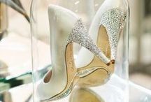 So Shoe Crazy / We're crazy for shoes!  And our wedding shoes have to be perfect!