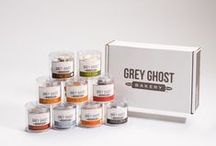 Grey Ghost Sightings / We're seeing Grey Ghost cookies all over the place!  Find Grey Ghost at your favorite retail haunts.