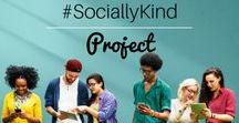 #SociallyKind / Awareness movement to spread kindness in social media.  Let's be a culture that changes negativity on social media!  Join#BeAwesome In Social Media on Facebook to join the conversation of spreading social media awareness and please use #SociallyKind in your posts on social media to help spread the idea that social media can be a positive experience.
