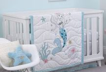In the Nursery / Transform your nursery into a magical kingdom with decorating tips and a few of our favorite crib bedding collections for your little sleeping beauty.