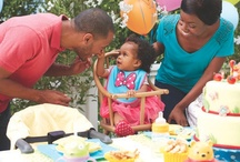 """Baby's Firsts / From his first wobbly little step to the day she first said """"mama"""" - create magic in each and every milestone with birthday party ideas & DIY keepsake projects."""