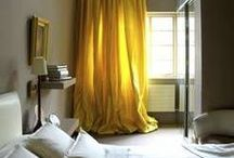 Curtains and Blinds / A selection of window treatments from Curtains, Roman blinds, shutters