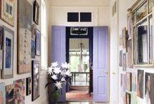 Salon Walls / Salon-style picture hanging