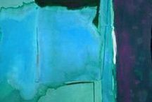 Helen Frankenthaler / The art of painter Helen Frankenthaler (1928-2011)