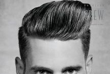 Men's Hairstyle Gallery / Here you can find the biggest men's hairstyle gallery on pinterest. Trends and men's hairstyles that are awesome every year!
