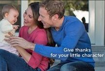 Gobble, Gobble / How are you giving thanks for your little character this Turkeyday?