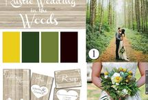 WEDDING INSPIRATION BOARDS / Wedding themes, color schemes and mood boards for bridal inspiration. Beautiful wedding photography and ideas as well!