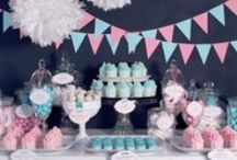 PARTY INSPIRATION BOARD / Party inspiration mood boards for theme ideas, color schemes and more