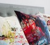 Custom Textile Accessories / Cushion, throws and bedspreads