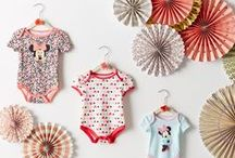 What's In My Nursery: Fashion / Why lock their outfits away in a closet when you display them so gorgeously? Share your Disney-inspired nurseries using #WhatsInMyNursery.
