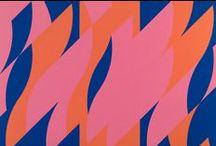 Bridget Riley / The art of painter Bridget Riley (born 1931)