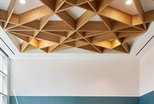 Ceilings / Images that show interesting design chooses for ceilings or the fifth wall.