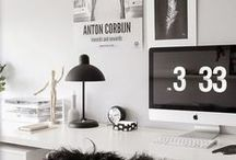 Office Inspiration / Hier bekommt ihr einige Inspirationen zur Gestaltung eures Büros!