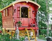 Bus & Quirky renovations / Renovated Buses and caravans for holidays
