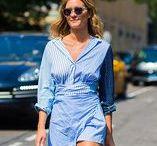 Shirt-Dresses / Das perfekte Teil, für alle die schnell und umkompliziert schick aussehen wollen? Ein Shirt-Dress! Bei den Streetstyle-Stars ist das Kleid schon längst ein Must-Have. Bei dir auch?