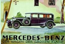 Vintage Mercedes Ads / vintage posters, prints, and advertisements