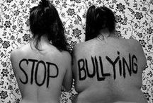STOP BULLYING / The Dignity for All Students Act - to combat bullying - was signed into law on September 13, 2010 and took effect on July 1, 2012.  Although putting legal muscle into the fight against bullying in schools may prove helpful, it is not enough to tackle this social problem. No amount of legislation and no penalties for intimidating schoolyard behavior, no matter how severe, can guarantee that children will be safe at all times in, or outside of, school. It takes a community to prevent bullying.