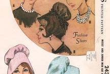 1960 Hats dibujos, curiosidades, sombreros / by Lourdes Pérez Martinez