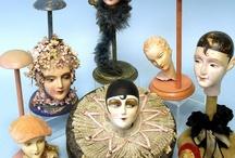 Expositores de sombreros, maniquíes. / by Lourdes Pérez Martinez
