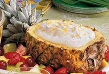 PARTY FOOD / Tropical Party Food perfect for a Lual Party or BBQ.