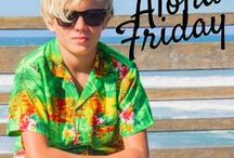 ALOHA FRIDAY / #Aloha Friday #Bright Shirt Friday #Casual Friday  pin pics of you wearing your Hawaiian Shirt to work here