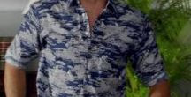 CELEB ISLAND STYLE / Celeb's wearing Hawaiian Shirts & tropical fashions.