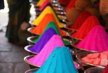 COLOR INSPIRATION / Vivid, Color, Harmony, Gradient