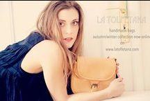 "Shooting for La Tolfetana ""Autumn/Winter Collection"" / Shooting for La Tolfetana ""Autumn/Winter Collection"".  Thanks to our favorite super Model Eva Lombardo and Photographer Claudia Bernhard. Visit The Shop Online www.latolfetana.com"