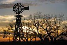 On the farm / I grew up on a farm and I'm still a farm girl at heart!