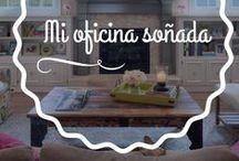 Mi oficina soñada / Te comparto lo que más me gusta en estilos de decoración, muebles y espacios físicos. ¿A tí qué te gusta?
