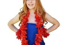 LEIS & HULA SKIRTS / Leis, Lei Sets, Hula Grass Skirts and many combos. Get luau party ready here! Many ideas and products for sale. Follow link in bio.