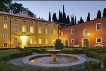 Hotel d'Autore – Luxury and Relax signed by Roberto Giovannini / Villa Cordevigo Wine Relais & Spa, an 18th century Venetian Villa  which has recently be entirely refurbished as a 5 star hotel has expanded its structure thanks to the new wing finely decorated by the Interior Designer Claudio Menichelli with Roberto Giovannini's furniture. Rich fabrics, period furnishings and wooden ceilings along with sumptuous marbles in many of the bathrooms, preserve the delightful charm and atmosphere of an ancient patrician residence.