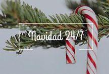 Navidad 24/7 / ¡Me encanta la Navidad! De verdad! Cuento los meses para diciembre, tal vez es porque es el mes de mi cumpleaños pero de que me encanta… no cabe duda. Aquí encontrarás ideas, reflexiones, manualidades si eres Navidzilla como yo.