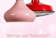 Valentijnsdag! <3 / De Dag der Liefde is bijna daar! Bent u er al helemaal klaar voor? Of bent u nog op zoek naar een leuk Valentijnscadeau? Wij helpen u kiezen! www.lampenlicht.be