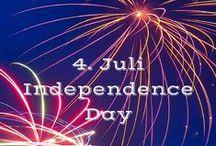 4th of july / Independence Day in den USA ist ein besonderer Feiertag. Finde hier Rezepte zum 4. Juli und Dekorations Ideen.