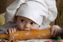 My kitchen / I miei dolci, i miei piatti.