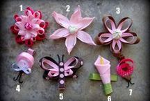 hair clips / by Maria Felix