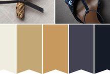 Farger til inspirasjon / Paletter