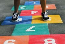 first4playgrounds : playground markings design and installation / Playground markings and sports court markings design and installation